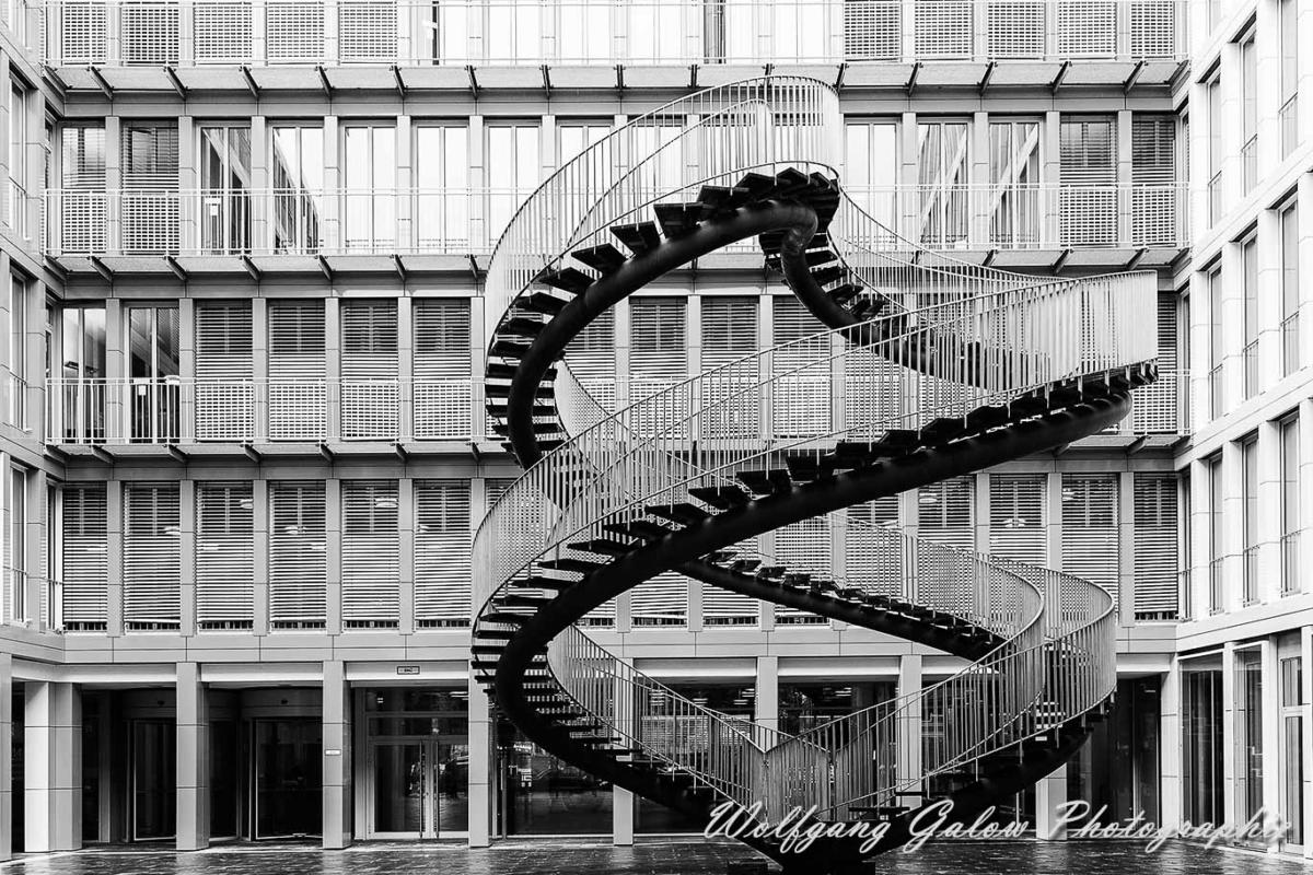 Treppen München architekturfotografie münchen die unendliche treppe wolfgang